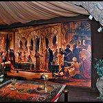 Recepción en el Palacio Califal