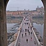 Vista del Puente Romano, desde la Torre