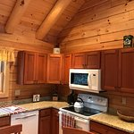 Kitchen View of Cabin 5