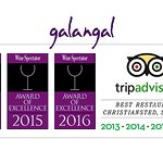 Wine Spectator Awards of Excellence and Trip Advisor Best Restaurant Christiansted, St. Croix