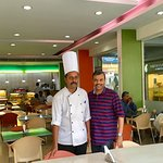 With Canopy Head Chef Abdul Khader