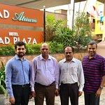 With Jibran Asif, Akbar & Sivaraman