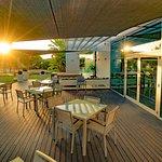 Pure Boutique Café Outdoor Terrace