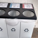 Recycling bins that keep the property clean