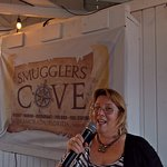 We sang Karaoke with Nancy Petra she's so fun