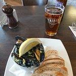Steamed mussels starter