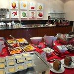 Breakfast buffet (only part of it)