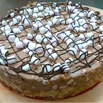 Rocky-Road cheesecake we made today... Yay !