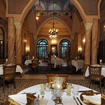 the great restaurant at Al Moudira
