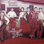Murals abound in the Depot District, Richmond was home Gennett Recording Studio in the 1910-30s
