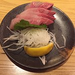 This time I tried Sushi Tei at Puri Indah Mall. Very standardized sashimi but very special ama e