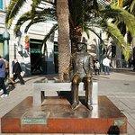 Photo of Hans Christian Andersen Statue