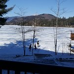 View of winter fun from our room