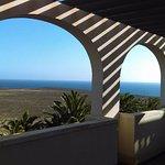 Taras z widokiem na ocean