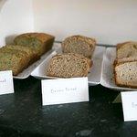 Homemade Breads for the Breakfast Buffet
