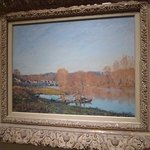"Alfred Sisley ""Autumn: Banks of the Seine near Bougival""-Montreal Museum of Fine Arts"