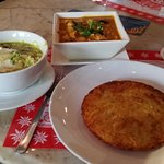 Rosti with curry