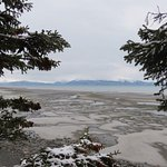 Low Tide - From the vantage point of the Alaska Beach House.