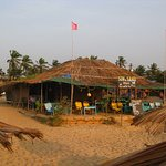 one of the nearby beach shacks (Sea and Sand)