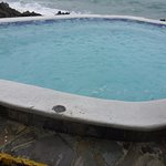 One of the cool tubs over looking the ocean