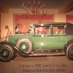 Capone owned the first-ever armored car