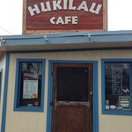 Entrance to Hukilau Cafe