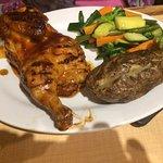Chicken & 2 sides $16