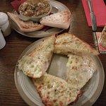 Garlic Mushrooms & GBC. Mushrooms are a must!!