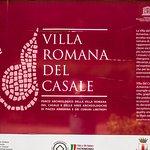Photo de Villa Romana del Casale