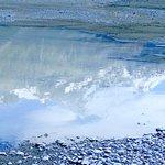 Mountain reflections on Lake Tasman