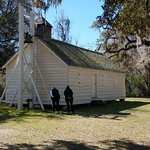 Church part of the slave quarters on the plantation.