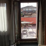 Wonderful stay room with a view terrace looking at the campanelli