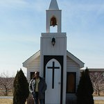 Outside chapel