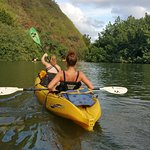 Kayaking (or letting your sister do it)