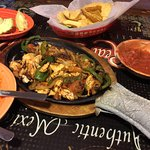 Great dinner every time.  Fantastic corn tortillas adds taste to the grilled chicken fajitas