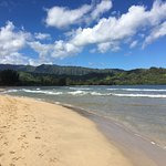 Beautiful Hanalei Bay.