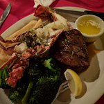 Surf and Turf - Filet and lobster tail