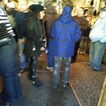 customers waiting to be seated