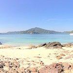 The beach at Thay Yae Island သေရည်ကျွန်း of Zar Det Nge Islands ဇာဒက်ငယ်ကျွန်း