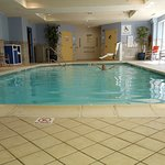Saltwater heated pool!