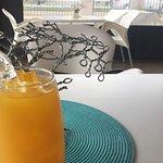 Canela-mango juice