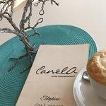 Perfect cappuccino at Canela