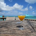 Nice beach views and delicious cocktails!