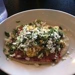 Huarache con Huevos