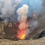 Mount Yasur eruption