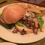 Golden Valley Brewery - McMinnville, Oregon - Grilled Chicken with mushroom and gorgonzola