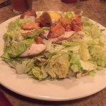 Golden Valley Brewery - McMinnville, Oregon - Chicken Caesar salad
