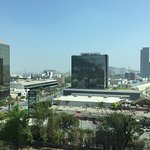 Monterrey, N.L. Mexico skyline from my Room 804 window @ Courtyard by Marriott San Jeronimo-Mont