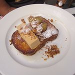 so delicious! salted caramel french toast