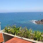 Vue sur la mer depuis les chambres de l'Hôtel Ker Moor Préférence